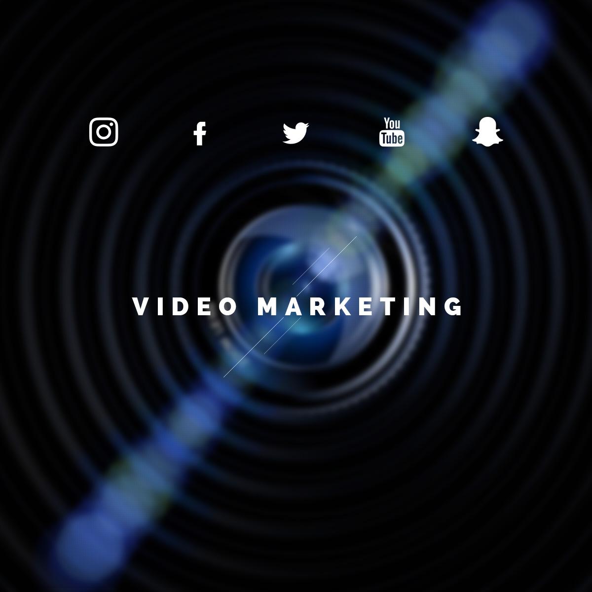 Sosyal Medya kanalları için Video Marketing